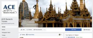 Digital Marketing Consultant Singapore - Portfolio - Facebook Marketing and Advertising - Ace Rental & Travels Facebook Page Header