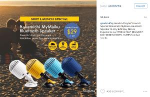 Digital Marketing Consultant Singapore - Portfolio - Facebook Marketing - Instagram Ad Campaign for Nakamichi speakers 1