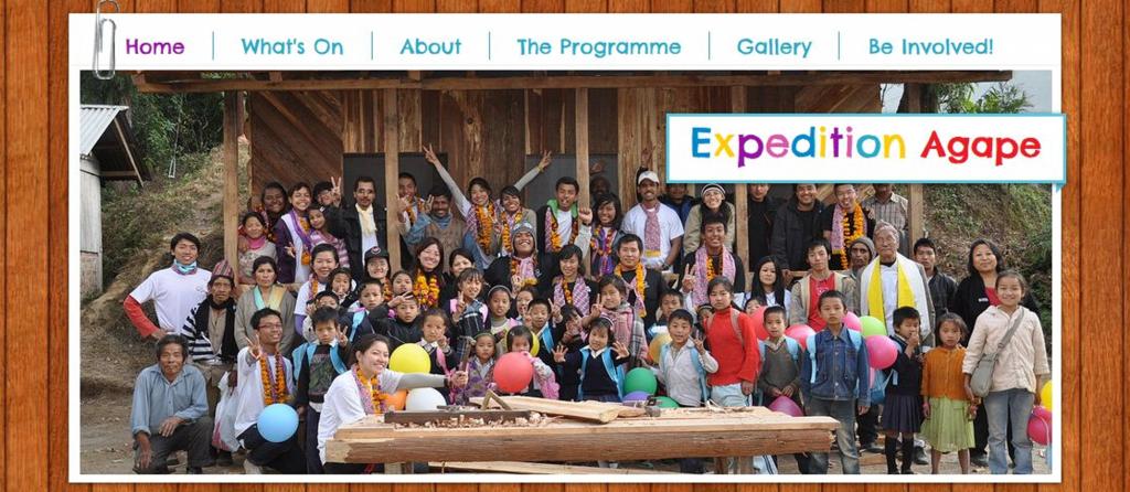Digital Marketing Consultant Singapore - Portfolio - SEO - Expedition Agape Header