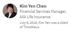 Digital Marketing Consultant Singapore - Testimonial - By Kim