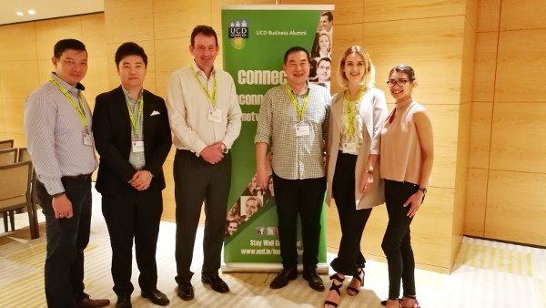 Timotheus with UCD and Kaplan team